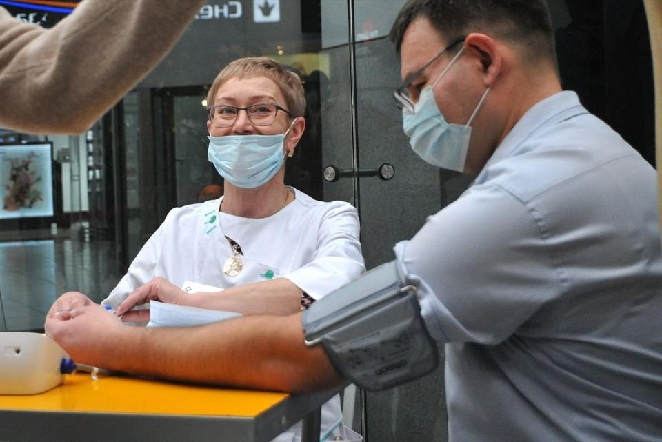 В регионе продолжается массовая вакцинация