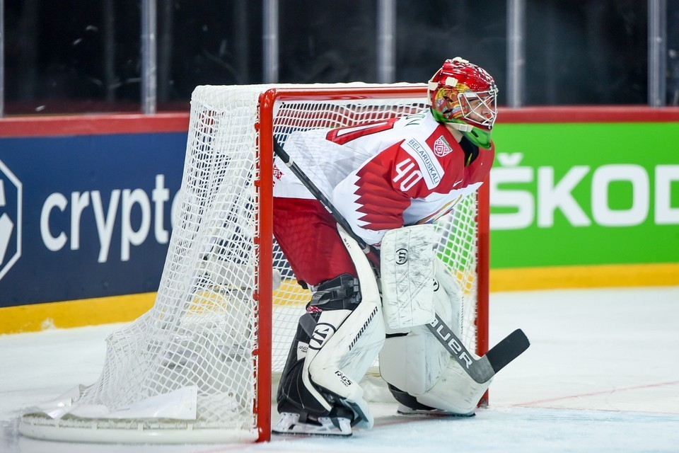 На чемпионате мира сборная Беларуси проиграла четыре матча из пяти. Фото: hockey.by