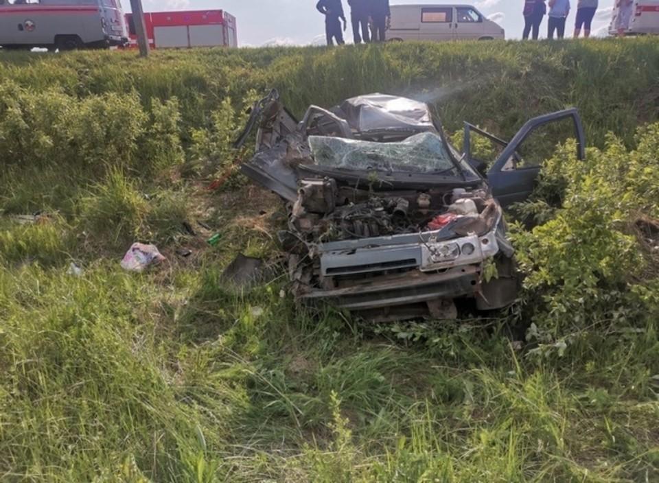 В ДТП в Навлинском районе погибли 36-летняя женщина и 10-летняя девочка. Фото: УГИБДД УМВД России по Брянской области.