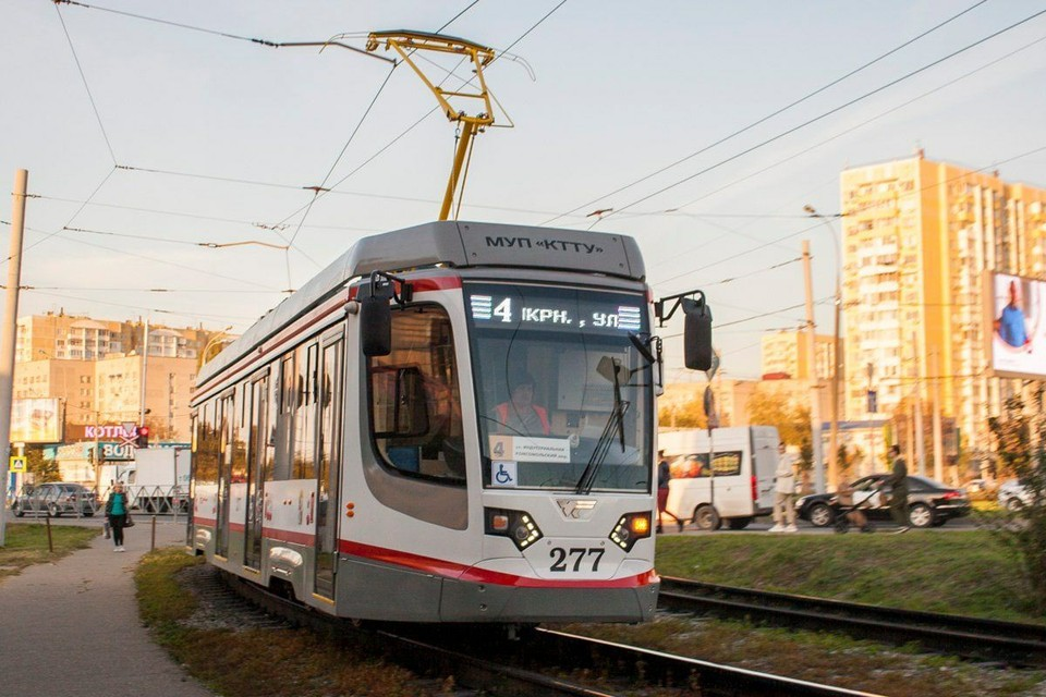 Трамвай поедет по другому пути