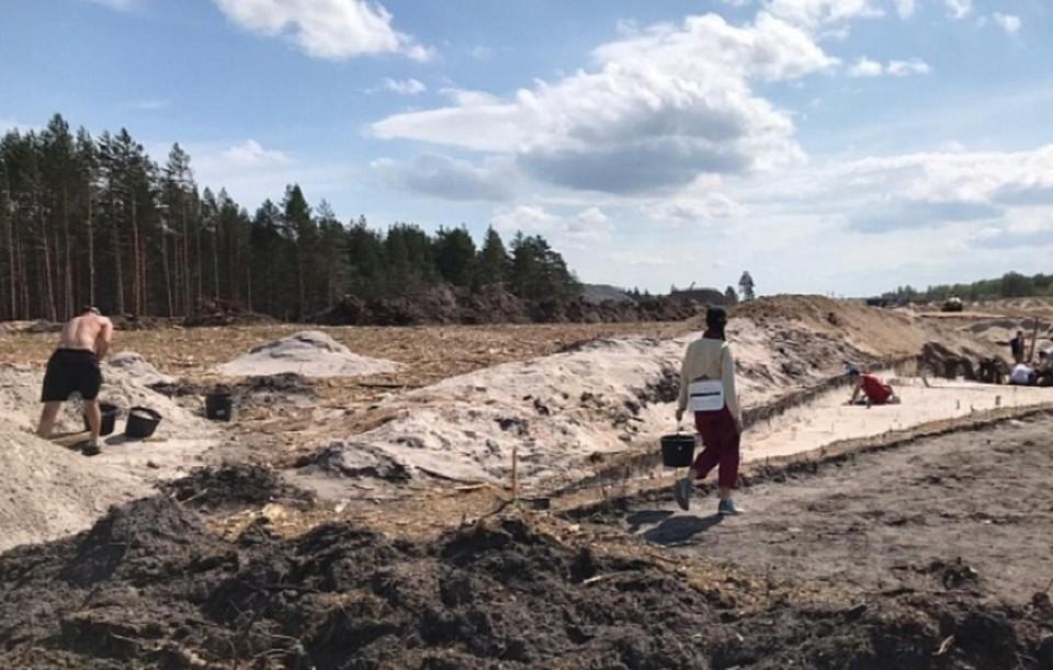 Стоянки древних кочевников обнаружили на месте строительства трассы М-12 в Нижегородской области. Фото: Автодор