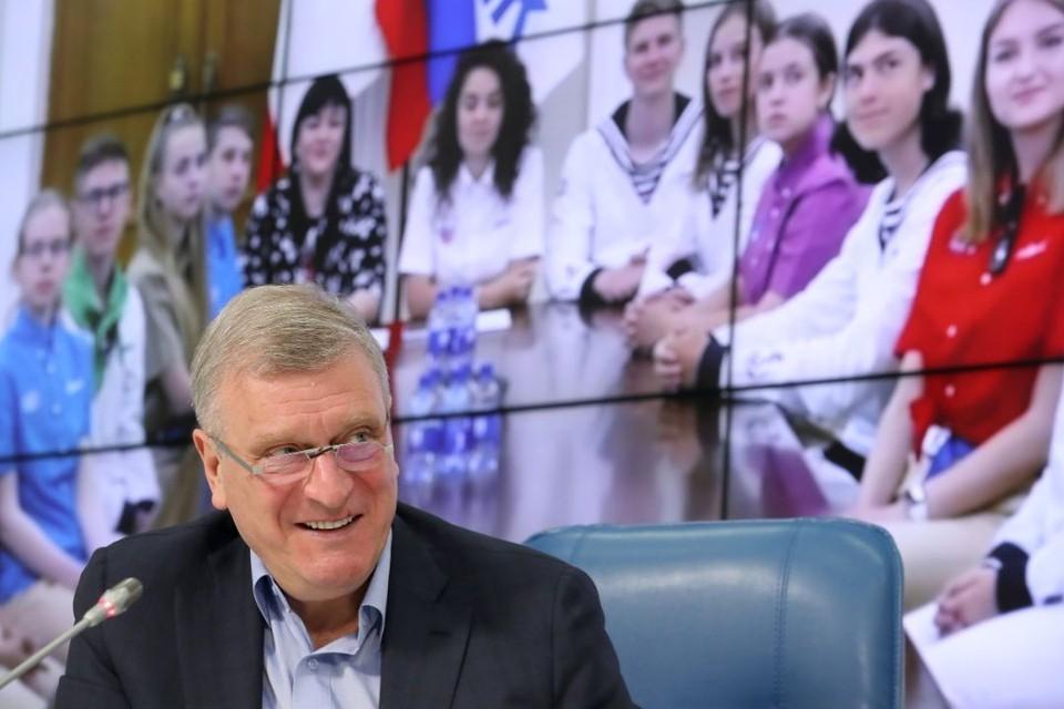 Губернатор Кировской области Игорь Васильев также ответил на вопросы журналистов. Фото: kirovreg.ru