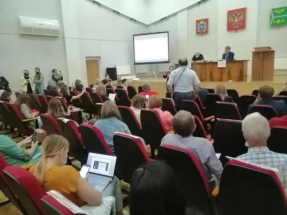 На общественные слушания приехали неравнодушные жители Самары и Кинеля