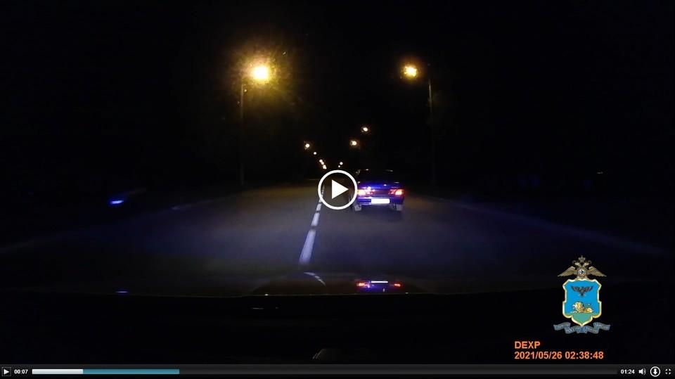 За рулем находился житель Иркутской области, не имеющий прав.