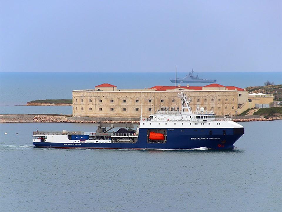 Морской танкер «Вице-адмирал Паромов»