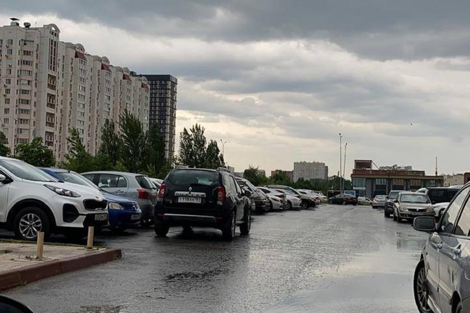 Ростов топят дожди. Фото: Анна Шиляева