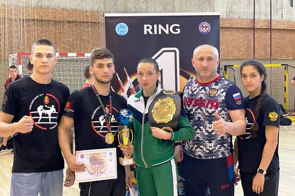 Тульские спортсмены привезли золото с Кубка Европы по кикбоксингу