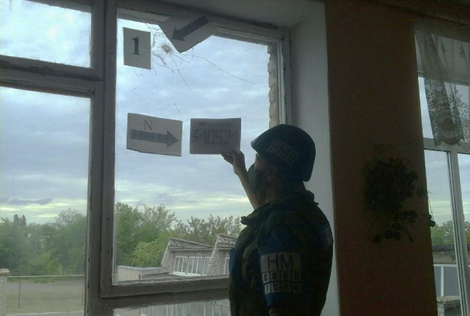 Под обстрел ВСУ попала школа и детский сад. Фото: ЛНР в СЦКК
