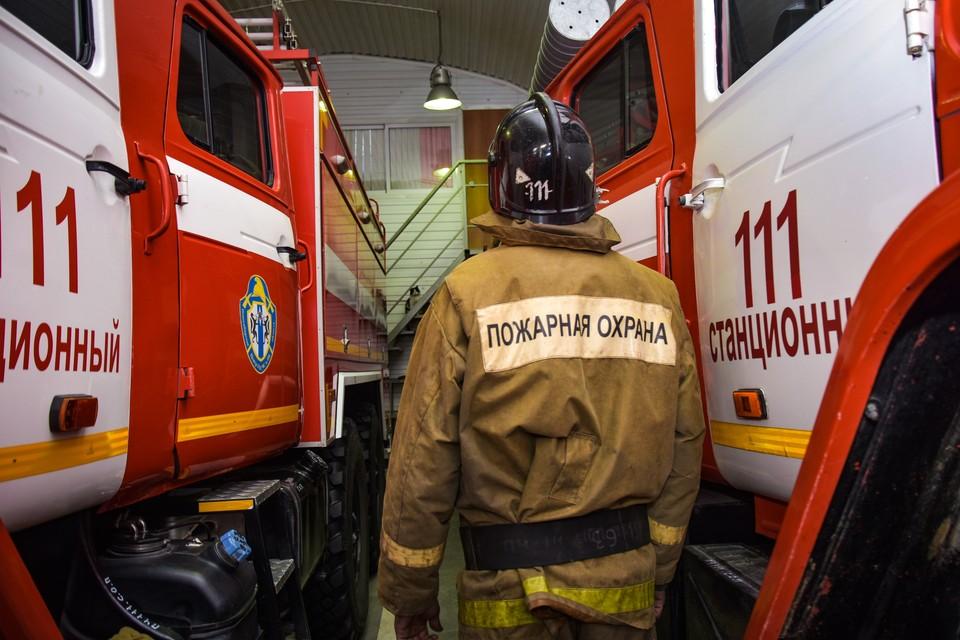 Причины пожара в МЧС пока не называют