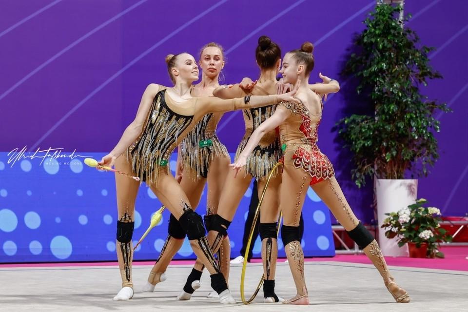Ярославская спортсменка завоевала победу на Кубке мира по художественной гимнастике