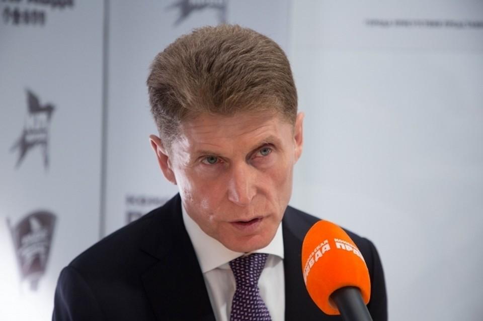 Губернатор Приморья возглавляет делегацию региона на Петербургском международном экономическом форуме – 2021