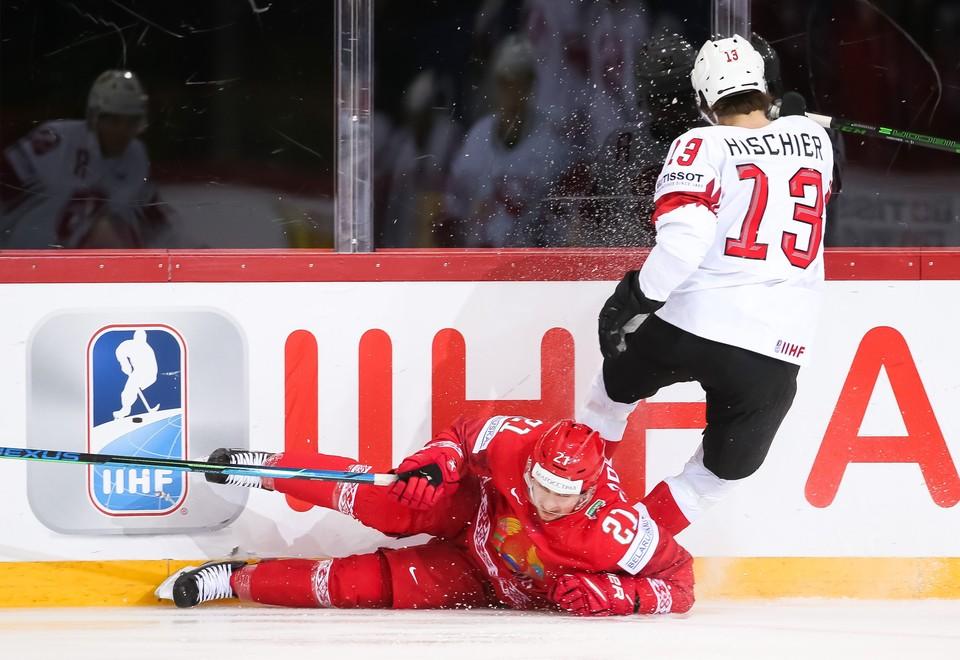 На чемпионате мира в Риге сборная Беларуси заняла 15 место. Фото: hockey.by
