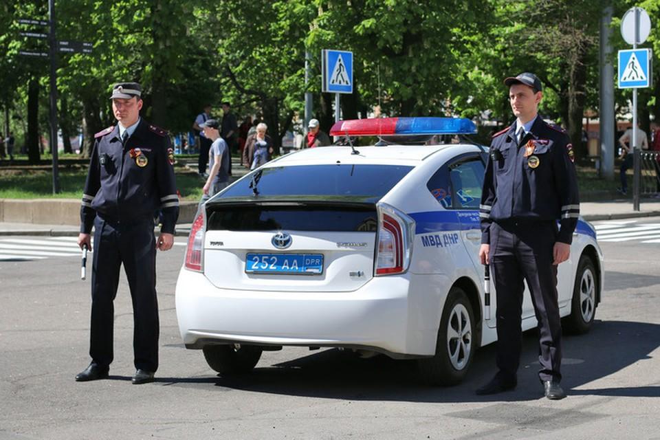 ГАИ призвала водителей и пешеходов быть внимательными на дорогах. Фото: МВД ДНР