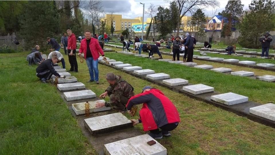 Всесвятское кладбище Краснодара