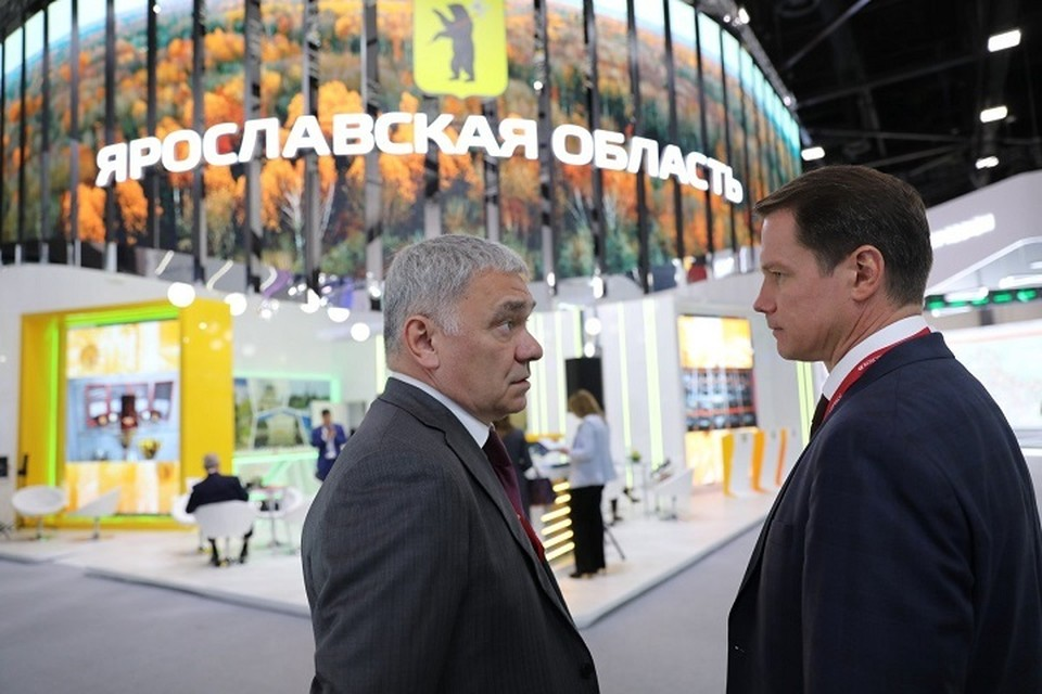 На стенде Ярославской области представлены перспективные проекты.