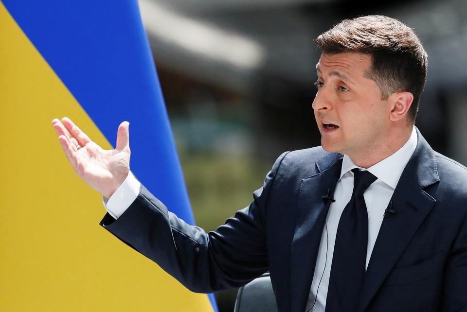 Владимир Зеленский внес в Раду закон о признании влиятельных лиц олигархами
