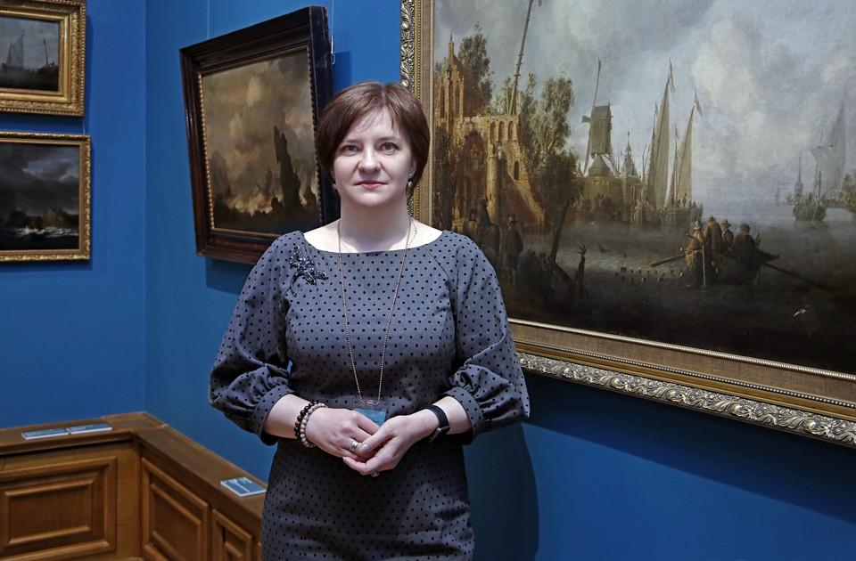 Алёна Доценко, директор Приморской картинной галереи. Фото: Сергей Кирьянов