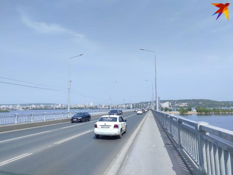 Мост Саратов-Энгельс будут частично перекрывать до конца июля