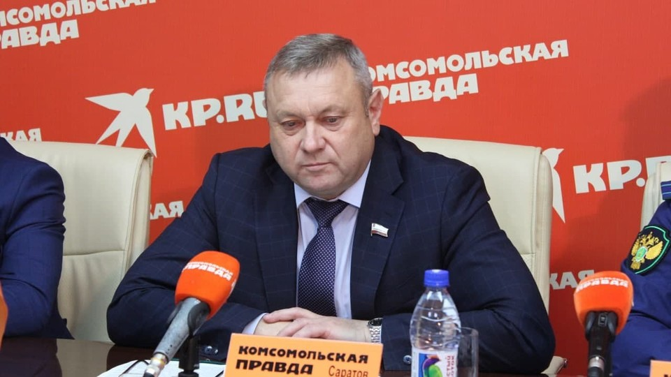 Министр природных ресурсов и экологии Константин Доронин