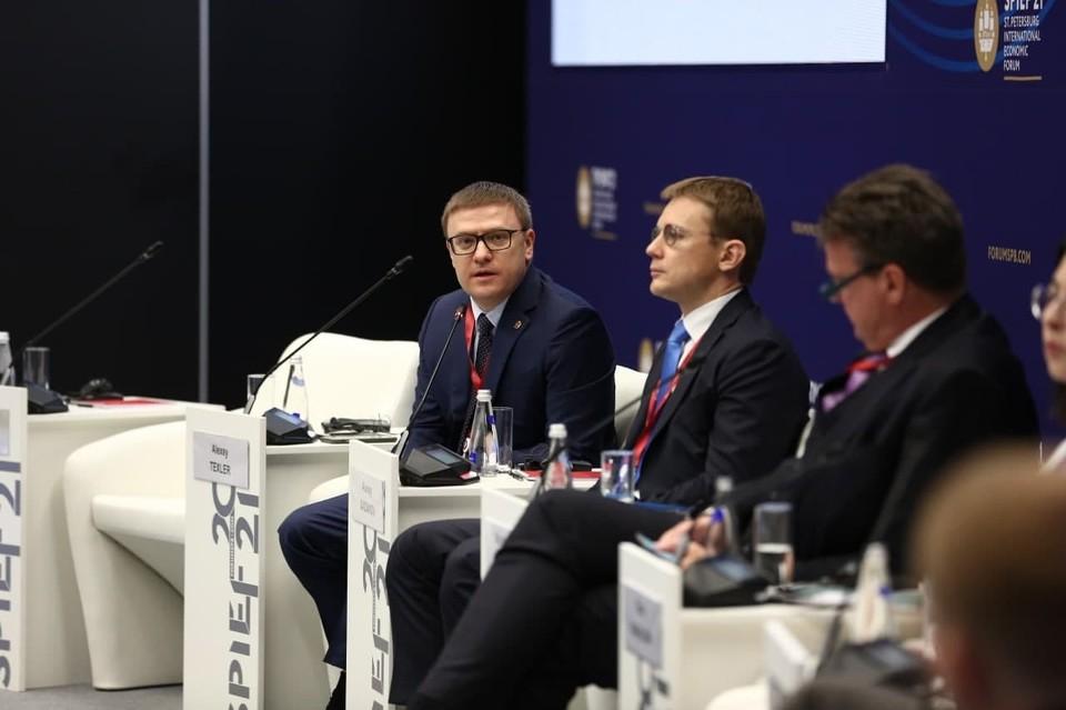 На ПМЭФ-2021 губернатор Челябинской области заявил о планах запуска ипотеки для малого и среднего бизнеса, действующего в промышленном секторе. Фото: gubernator74.ru
