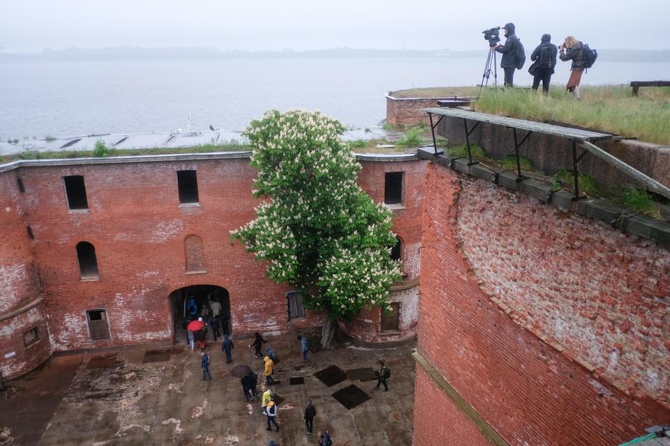 Форты Кронштадта обещают реконструировать.