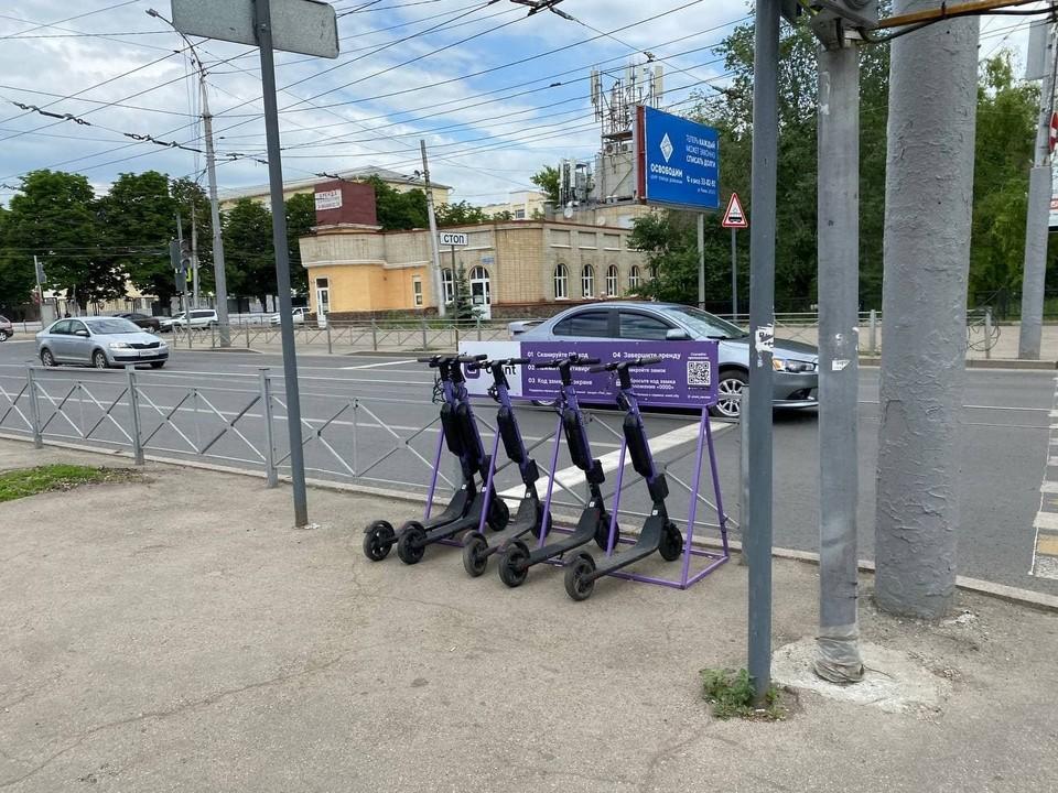 Электросамокаты на улицах в Саратове