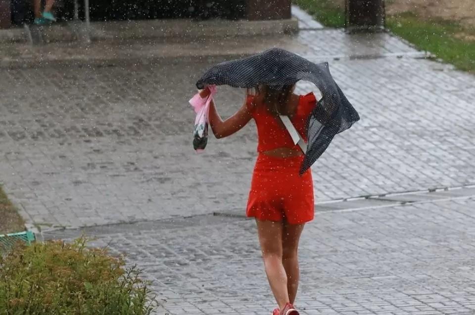 В ГУ МЧС по Алтайскому краю рекомендуют жителям края быть осторожнее, если дождь застал на улице