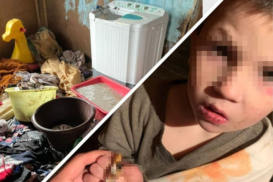 Прокуратура проводить проверку после того, как в соцсети появилось видео, на котором родные показали, как живут семеро детей. Фото: предоставлено Татьяной ОСАДЧЕЙ