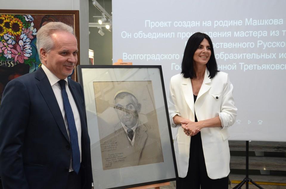 Картину благотворительный фонд приобрел для музейной коллекции.