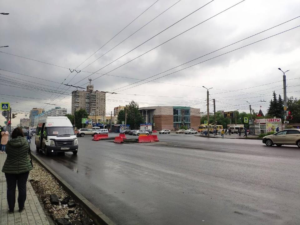 Реконструкция Комсомольского проспекта запланирована до конца этого лета.