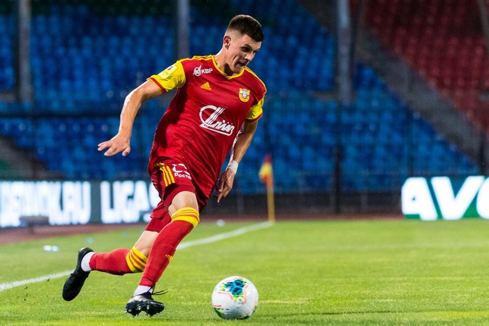 Полузащитник тульского «Арсенала» впервые сыграл за молодежную сборную России