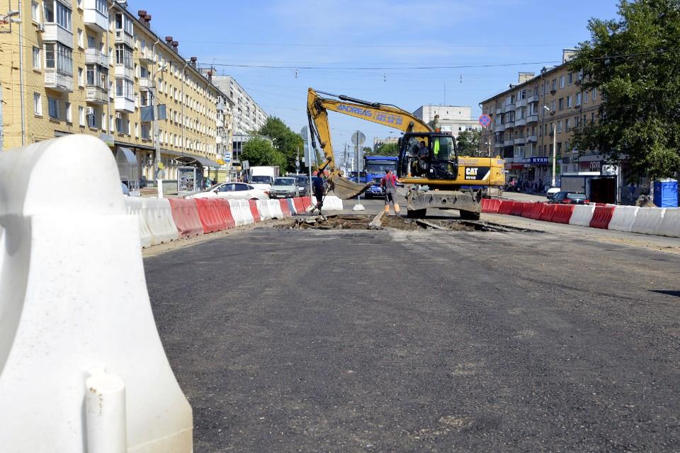 В прошлом году по нацпроекту в городе отремонтировали 61,5 км дорог, в этом запланировано чуть больше. Фото: администрация Твери