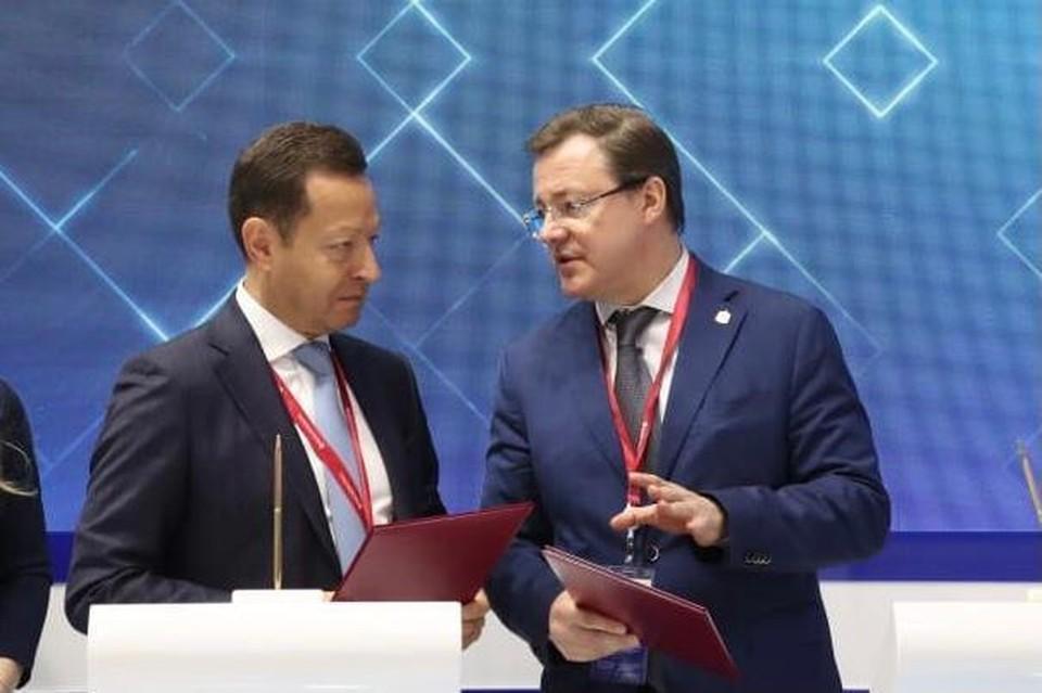 В Петербурге на форуме заключили соглашение о строительстве ветроэлектростанций