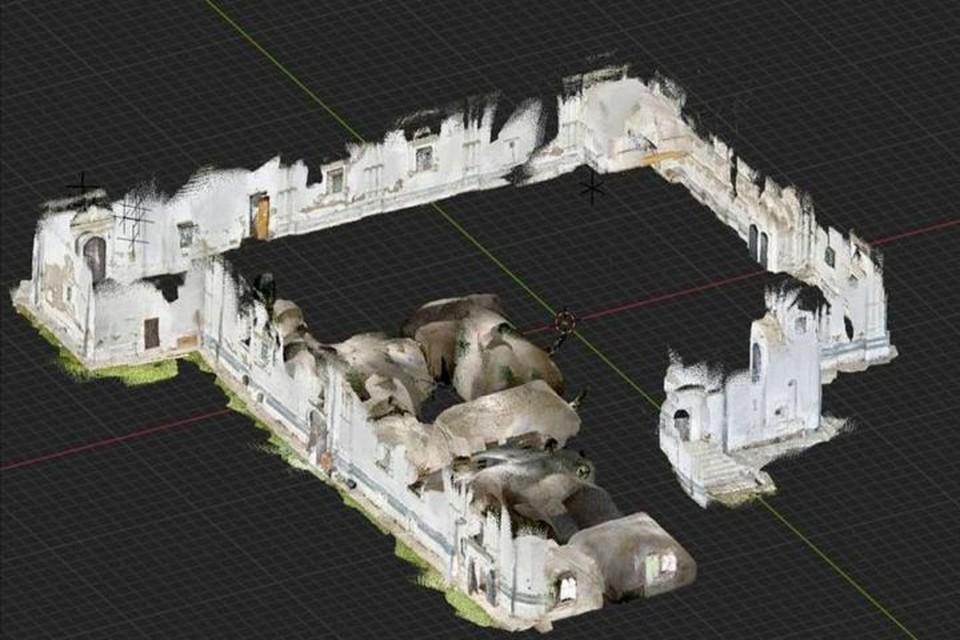 В обнаруженных пустотах могут находиться могилы монахов или подземные ходы. Изображение предоставлено Переславской епархией РПЦ