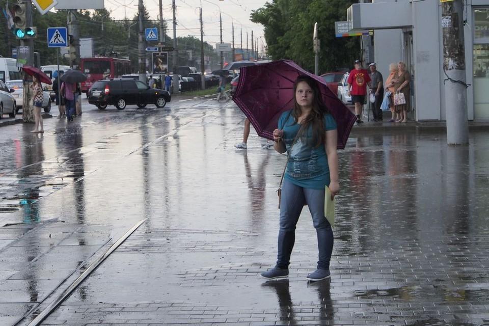 Дождь, возможна гроза: какая погода будет сегодня в Туле