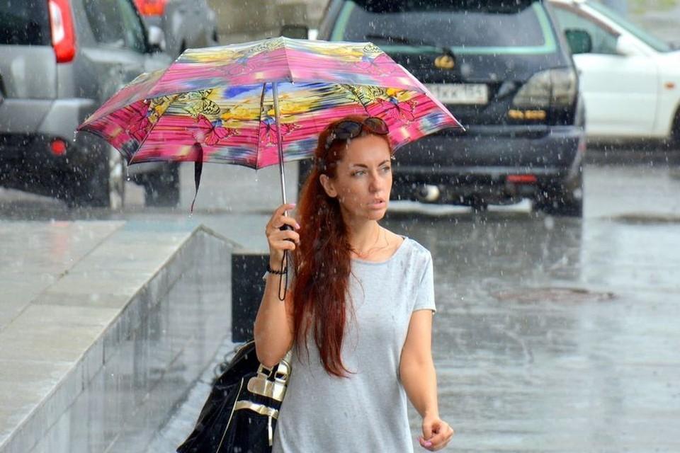 Новосибирск ждут дожди и грозы.