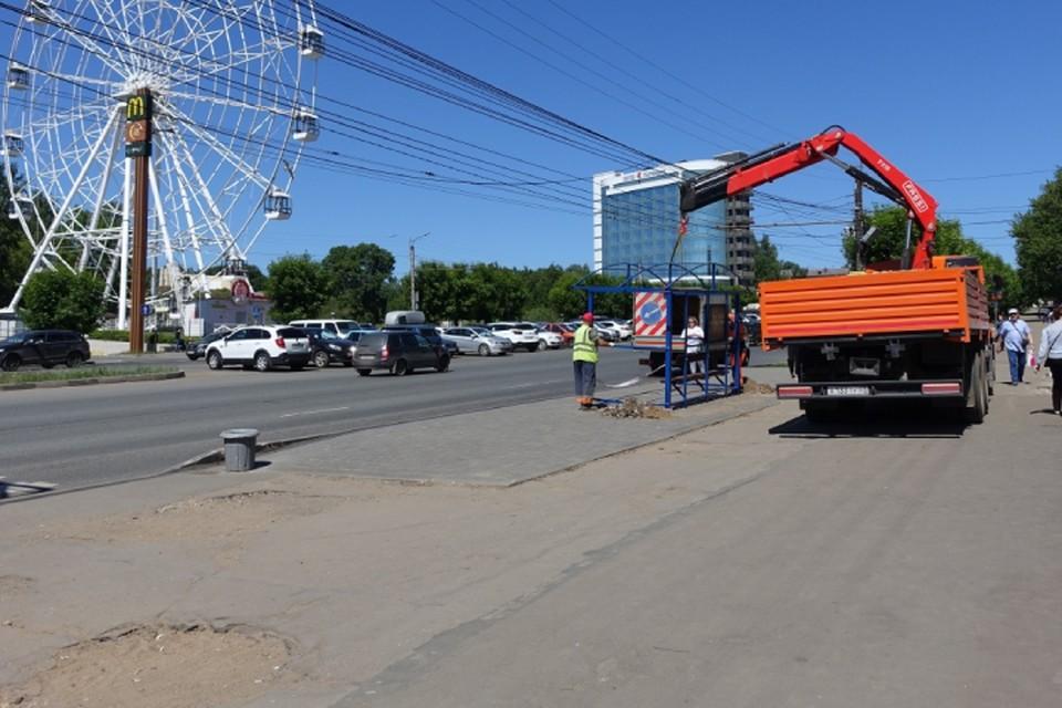 Новые павильоны ставят в первую очередь там, где их сейчас нет совсем. Фото: admkirov.ru