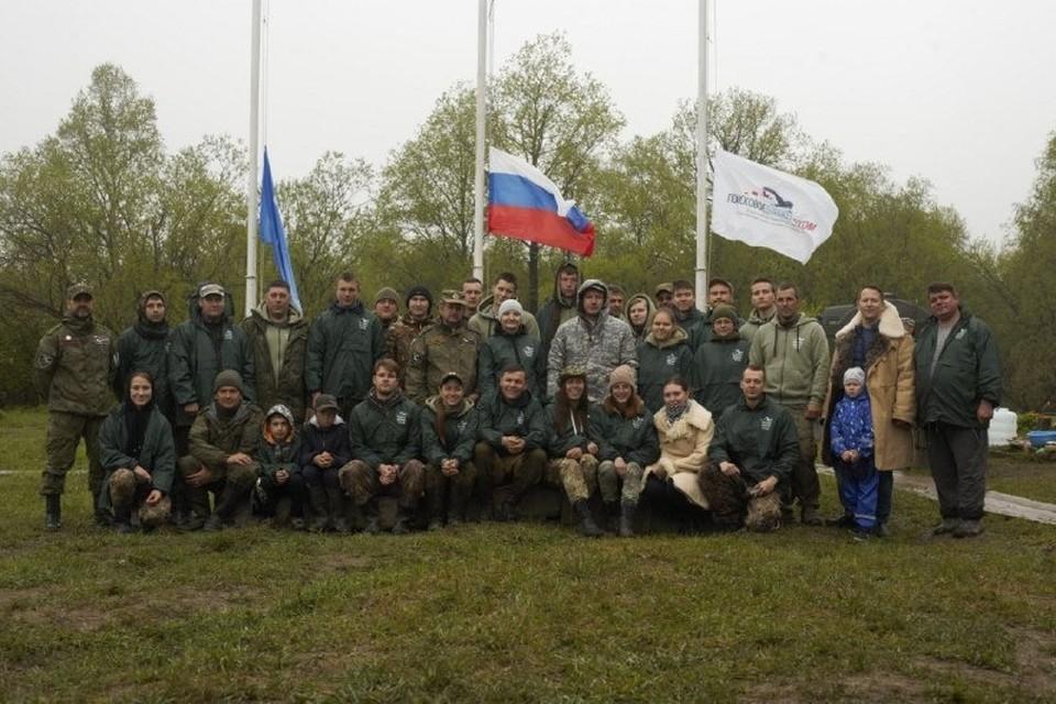 Экспедиция «Дальневосточный фронт» объединила более 40-ка участников из 18-ти регионов страны