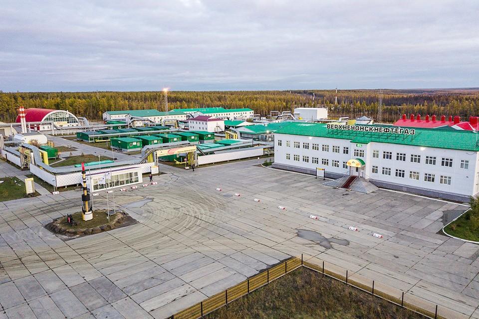 Вахтовый поселок на ВЧНГКМ. Фото: АО «Верхнечонскнефтегаз»