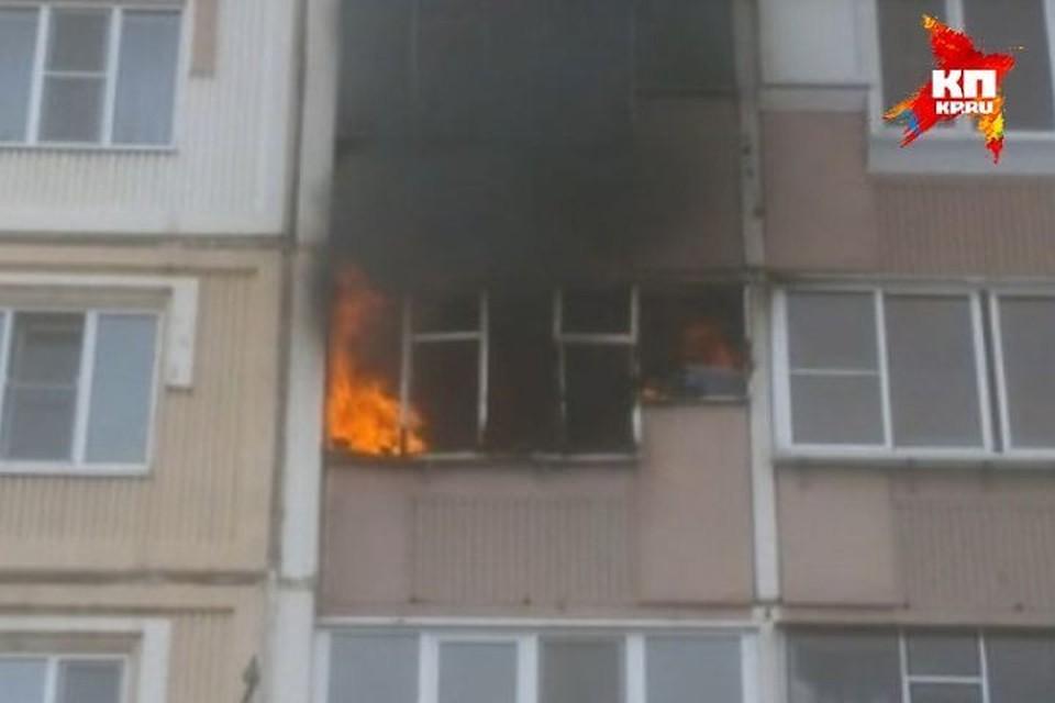 Пожар удалось оперативно потушить.