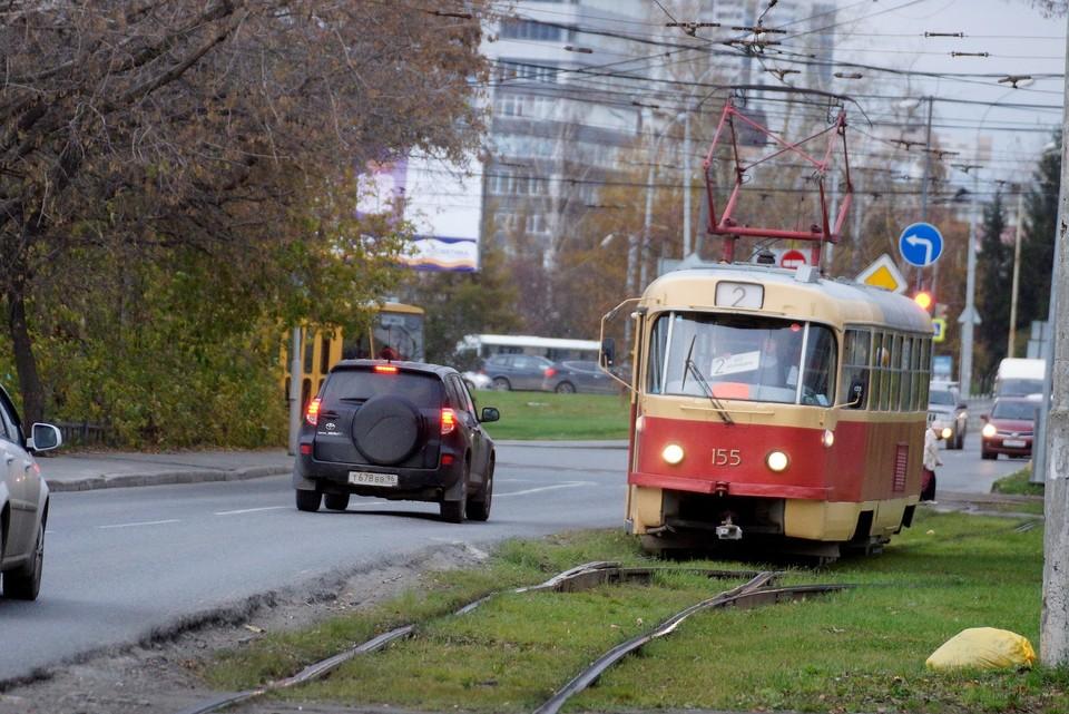 Ремонт трамвайных путей продлится с 18 июня до 21 июня