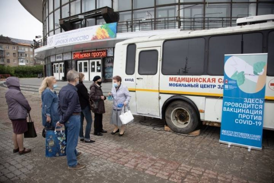 С 9 июня кировчане смогут привиться от коронавируса около железнодорожного вокзала и Цирка