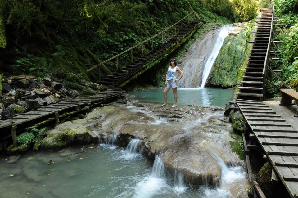 Объект расположен в Головинском лесничестве Сочинского национального парка.
