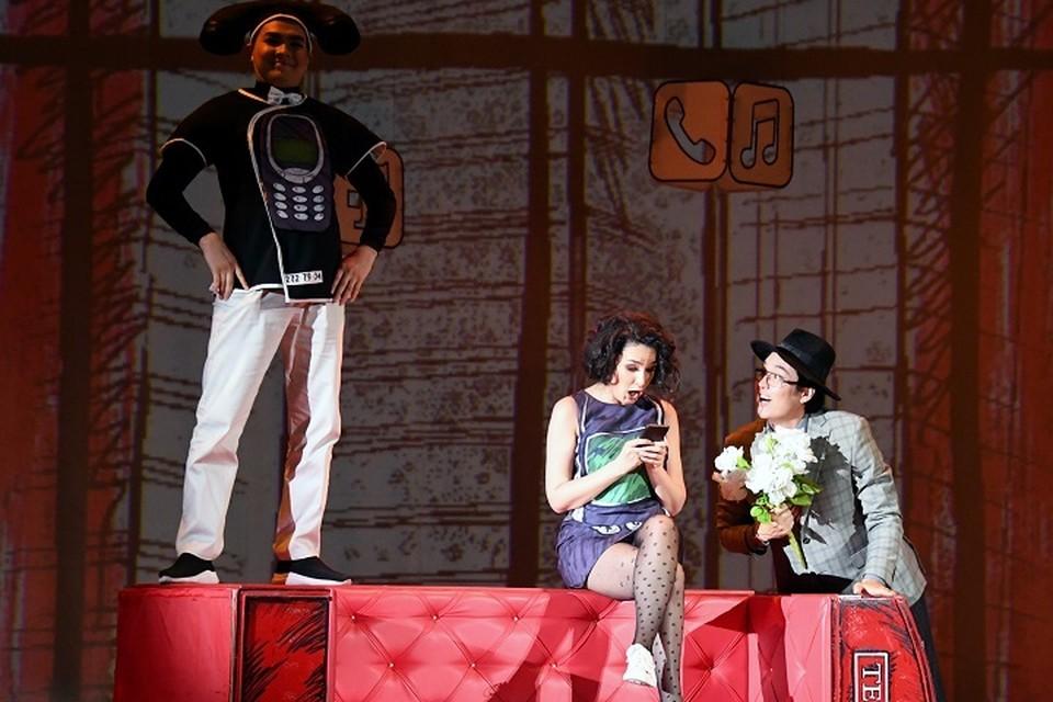 В Алматы состоялась премьера трех моноопер.