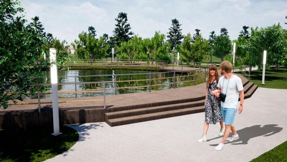 В благоустройство Аптекарского сада в Тобольске вложат 226 миллионов рублей.