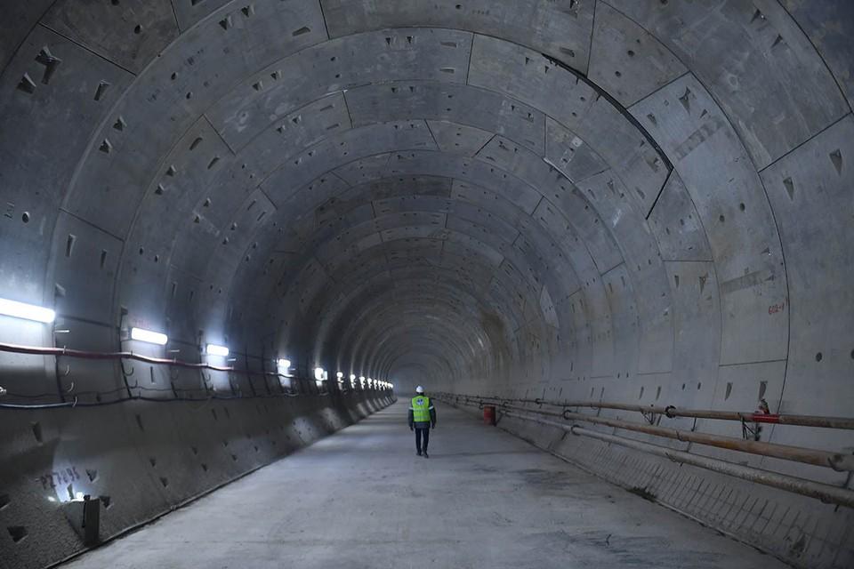 Московское метро ускоряется. На будущей Троицкой линии началось сооружение центрального участка.
