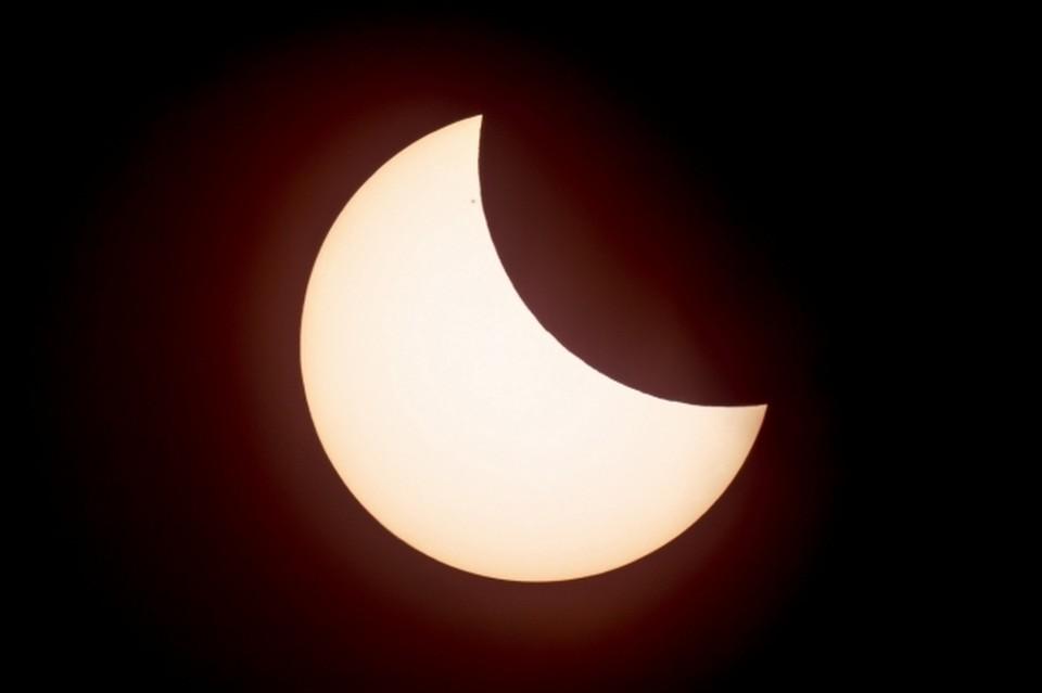 В Омске будет видно солнечное затмение.