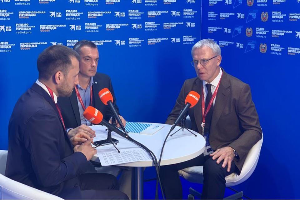 Вячеслав Фетисов и Илья Разбаш поговорили с «Комсомольской правдой»