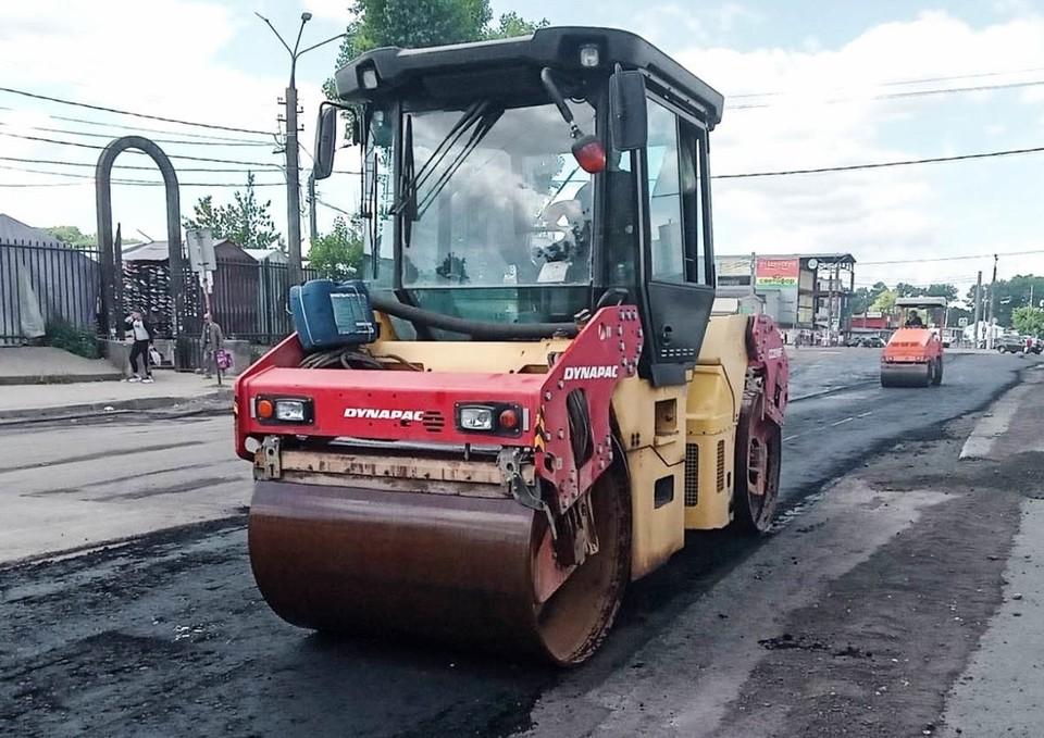 Ямочный ремонт провели на улице Желябова в Смоленске. Фото: администрация г. Смоленска.