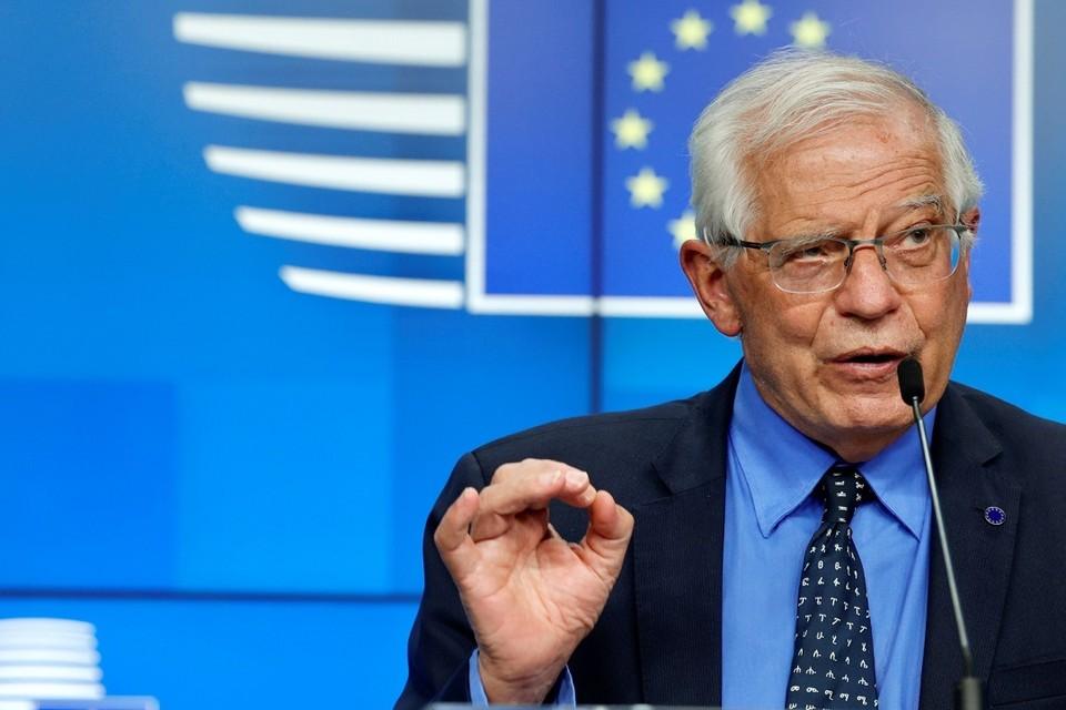 Жозеп Боррель заявил, что санкции ЕС должны быть направлены против властей Беларуси, но не затрагивать интересы обычных граждан. Фото: Reuters